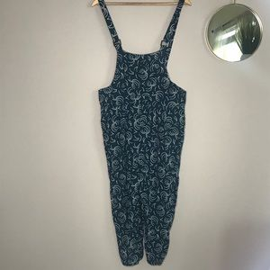 Anthropologie Maeve Overalls Adjustable Straps